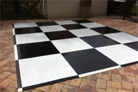 Checkered Dance Floor