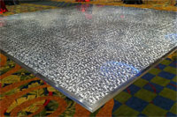 Metal Chip Dance Floor